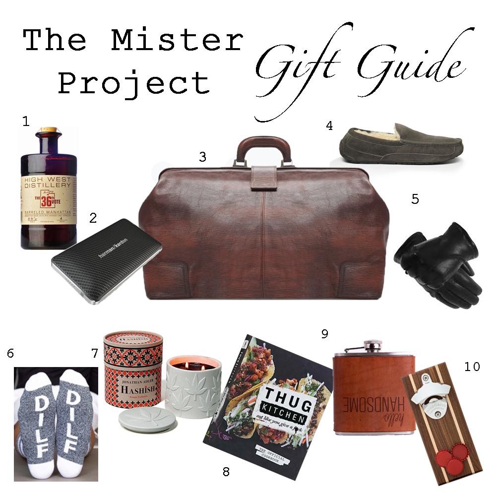 Mister Gift guide