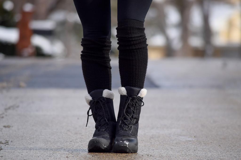 American Apparel Leg Warmers