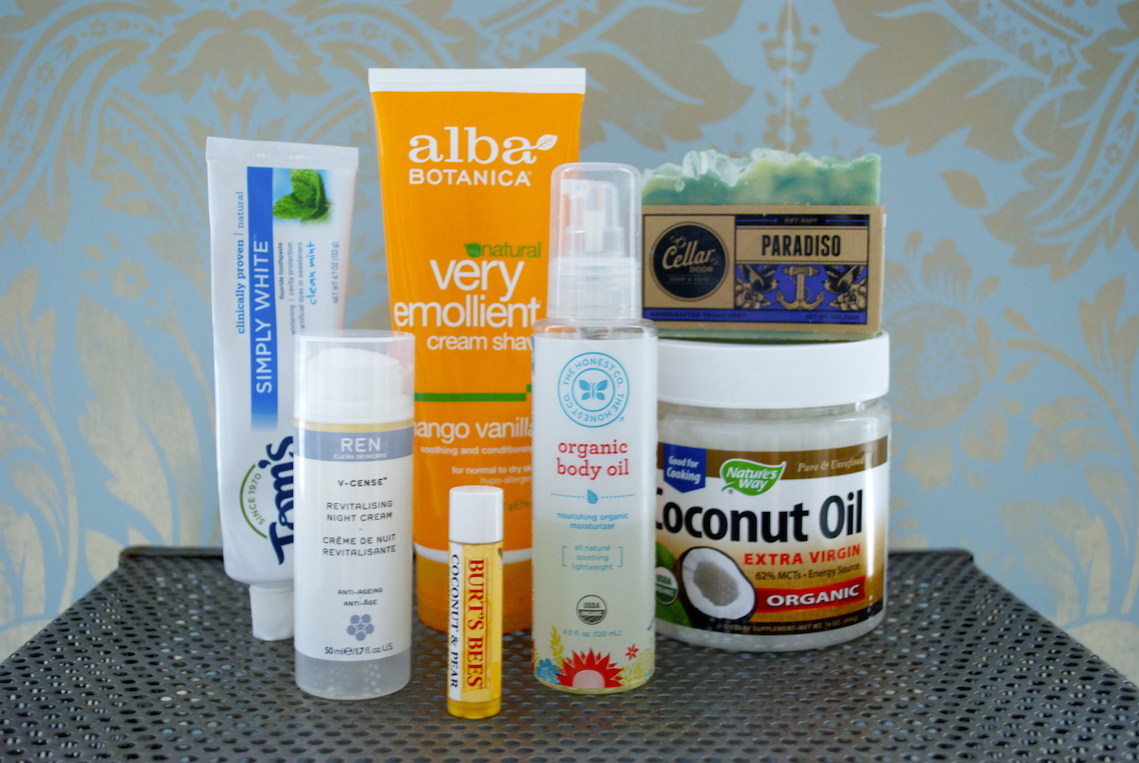 My Favorite Natural Body Products