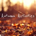 List of Fall Fun Everything
