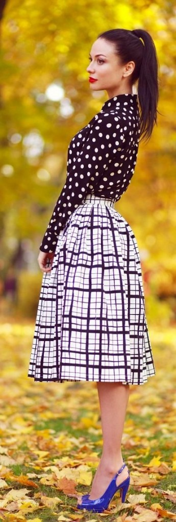plaid and pattern