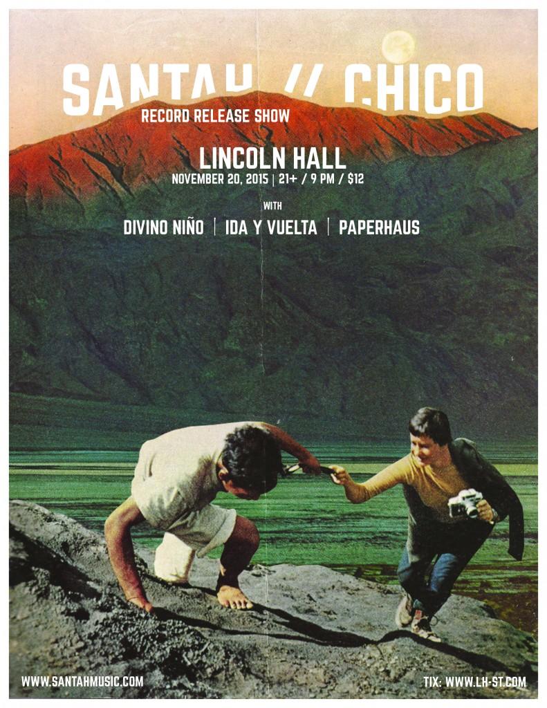 Santah - CHICO Gig Poster 2