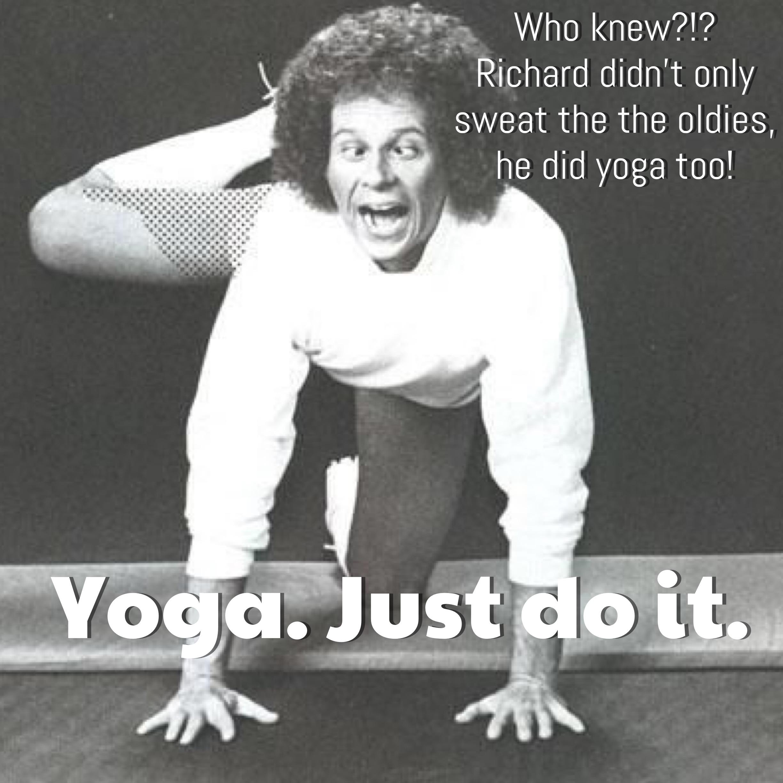 Richard Simmons_Yoga