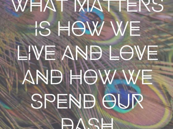 Dash Poem