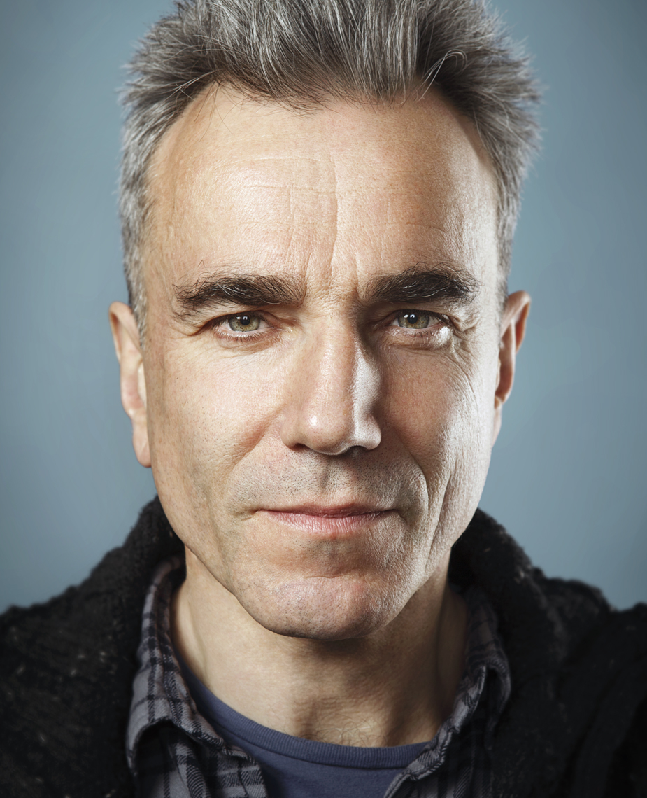 Daniel Day Lewis, photographed by New York celebrity photographer Dale May.