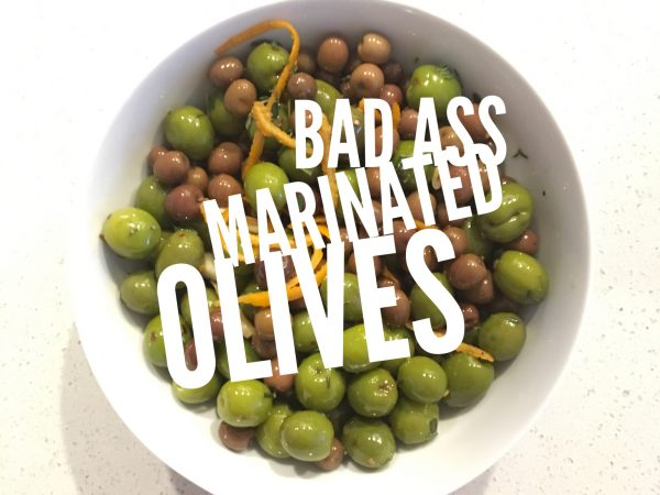 Scrumptious Marinated Olives
