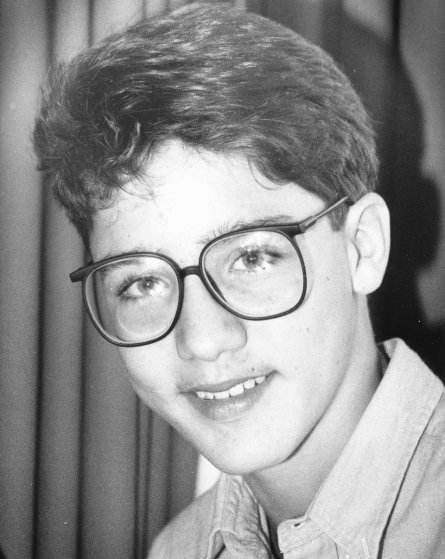 TORONTO, ON: Justin Trudeau pictured at age 14 in December, 1986. (Boris Spremo/Toronto Star via Getty Images)