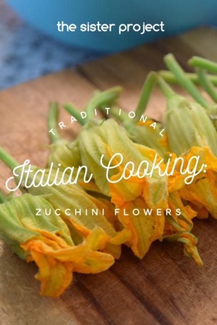 Zucchini flowers 1