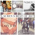 The Sister Project's Best of 2017 : The Lauren Edition