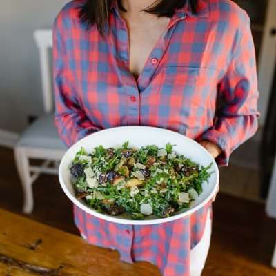 Arugula Roasted Potato Salad