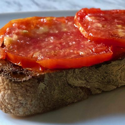 Garlic Tomato Toast