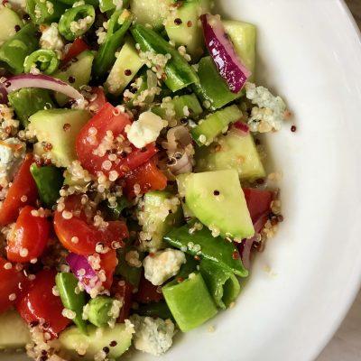 Sugar Snap Pea & Quinoa Salad