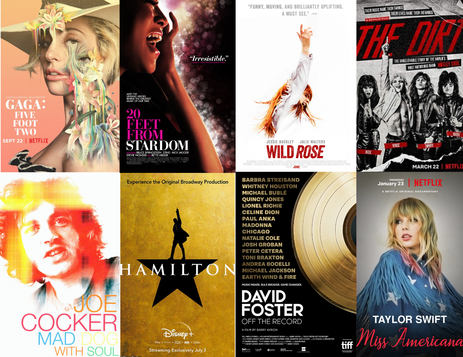 8 Music Themed Movie Options To Stream At Home The Sister Project Blog