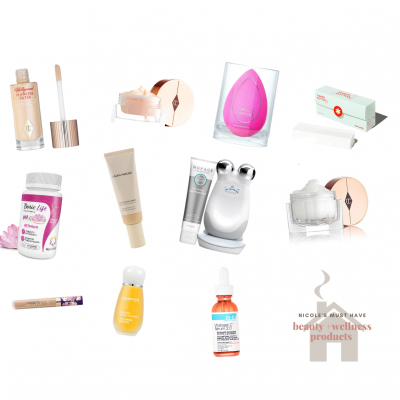 Nicole's Must Have Beauty + Wellness Products